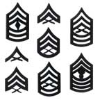 USMC Enlisted Collar Ranks