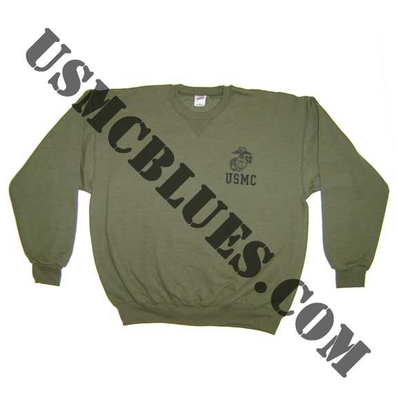 USMCBLUES.COM USMC Marine Corps Fleece Gear, hoodie, warmups for Sale
