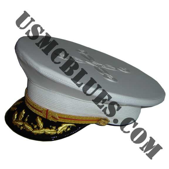 Marine corps dress blue hat images