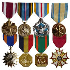 Marine Anodized Medals